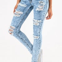 Flying Monkey Riptide Skinny Jeans $66