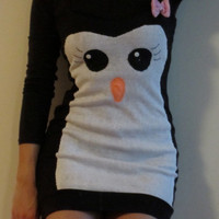 miss penguin tank dress