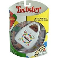 Twister Brand Game - mini Carabiner - for all your travel size needs