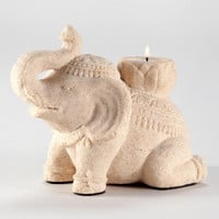 Sitting Elephant Decor