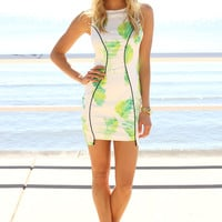 SABO SKIRT  Neon Citrus Dress - $62.00