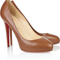 Christian Louboutin|Declic 120 leather pumps|NET-A-PORTER.COM