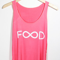 FLASH SALE!!! Infinity Food Tank Top | Yotta Kilo