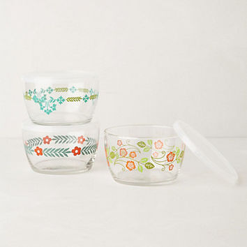 Glass Food Storage Bowl by Anthropologie
