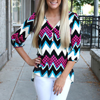 Off the Grid Blouse