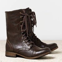 AEO Women's Rugged Lace Front Boot (B