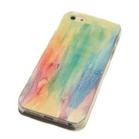 Cool Rainbow Painting Hard Cover Case for Iphone 4/4s