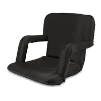 Black Venture Portable Recliner