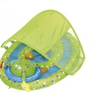 Swimways Baby Spring Float Activity Center with Canopy:Amazon:Toys & Games