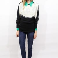 tea and tulips boutique - one of a kind vintage. — glistening snow sweater