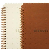 Biscuit Notebook  - MollaSpace.com