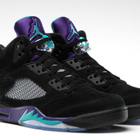 AIR JORDAN 5 RETRO 'BLACK GRAPE'