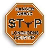 Texas Longhorns Stop Sign:Amazon:Sports & Outdoors