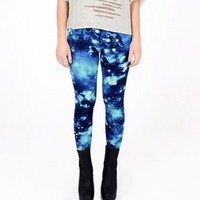 Pleiades Galaxy Leggings | Blue Galaxy Leggings | bogatte