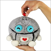 Mini Squishable Robot: An Adorable Fuzzy Plush to Snurfle and Squeeze!