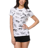 Empyre Girls Cat Parade White Tee Shirt at Zumiez : PDP