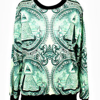 CURRENCY SWEATER