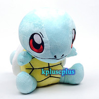 "Pokemon Pikachu Plush Doll Soft Toys - Squirtle 10"" #S561"