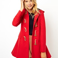 ASOS | ASOS Hooded Duffle Coat at ASOS