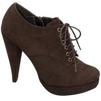 Eyelets in The Stream Heel - Shoes - Clothing