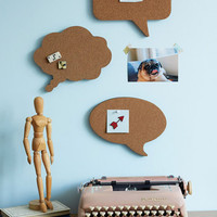 Conversation Starters Cork Board Set | Mod Retro Vintage Wall Decor | ModCloth.com