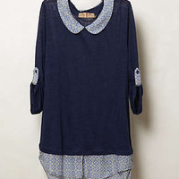 Anthropologie - Spotted Borders Top