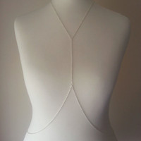 Silver Body Harness, Body Chain