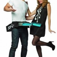 Rasta Imposta Usb Port and Stick Couples Costume:Amazon:Clothing