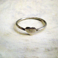 Heart Ring - Sterling Silver Heart Ring | Luulla