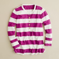 Ringspun stripe henley - AllProducts - sale - J.Crew