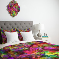 DENY Designs Home Accessories | Lisa Argyropoulos Colour Aquatica Passion Pink Duvet Cover