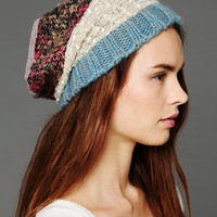Free People Patchwork Beanie
