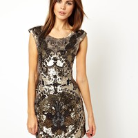 Needle & Thread Rococo Mini Dress