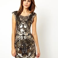 Needle & Thread | Needle & Thread Rococo Mini Dress at ASOS