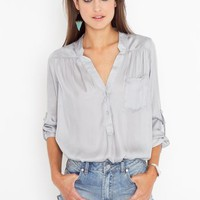 Silver Lining Blouse in Clothes Back In Stock at Nasty Gal