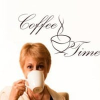 Coffee Time 2 - Wall Decals | My Wall Decal Shop | Decorating Ideas & Wall Stickers