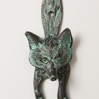 Sly Fox Doorknocker?-?Anthropologie.com