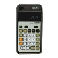 Amazon.com: Fred Re/Cover Snap-On Calculator Case for iPhone 4/4S: Cell Phones &amp; Accessories