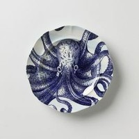 From The Deep Salad Plate, Octopus?-?Anthropologie.com