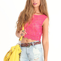 Montage Crop Top - $28.00 : ThreadSence.com, Your Spot For Indie Clothing & Indie Urban Culture