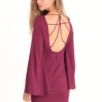 It's a Mystery Plum Dress - $63.00 : ThreadSence.com, Your Spot For Indie Clothing & Indie Urban Culture