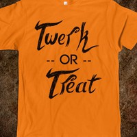 TWERK OR TREAT (ORANGE)