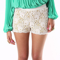 Feisty Lace Shorts | Trendy Clothes at Pink Ice