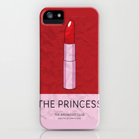 """The Princess"" The Breakfast Club iPhone & iPod Case by Jon Hernandez"