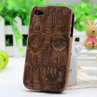Wooden iPhone 4 case iPhone 4s case iPhone case case by EliciaJo