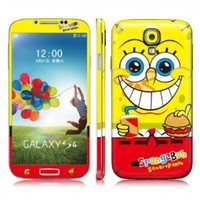 Spongebob Squarepants Full Body Vinyl Decal Protection 3M Sticker Skin Cover for Samsung Galaxy S4 i9500 - No.2:Amazon:Cell Phones & Accessories