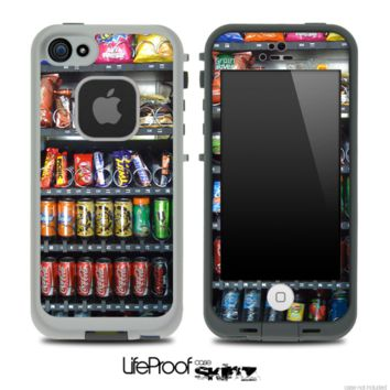Vending Machine Skin for the iPhone 5 or 4/4s LifeProof Case - iPhone