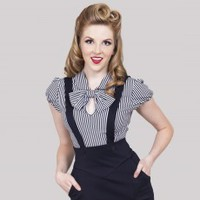 All Aboard Blouse | Bettie Page Clothing
