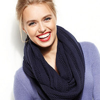 Sperry Scarf, Oversized Pointelle Inifinity - Hats, Gloves & Scarves - Handbags & Accessories - Macy's