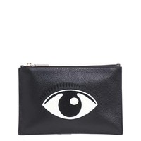 Embroidered eye leather pouch | Kenzo | MATCHESFASHION.COM
